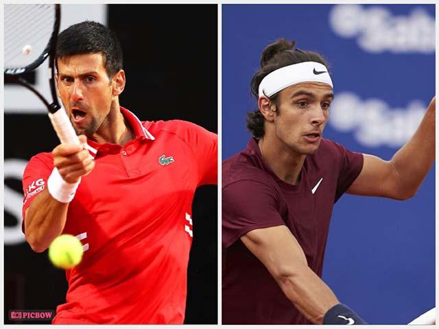Trực tiếp tennis Djokovic - Musetti: Kiệt cùng sức lực, Musetti bỏ cuộc (Kết thúc)
