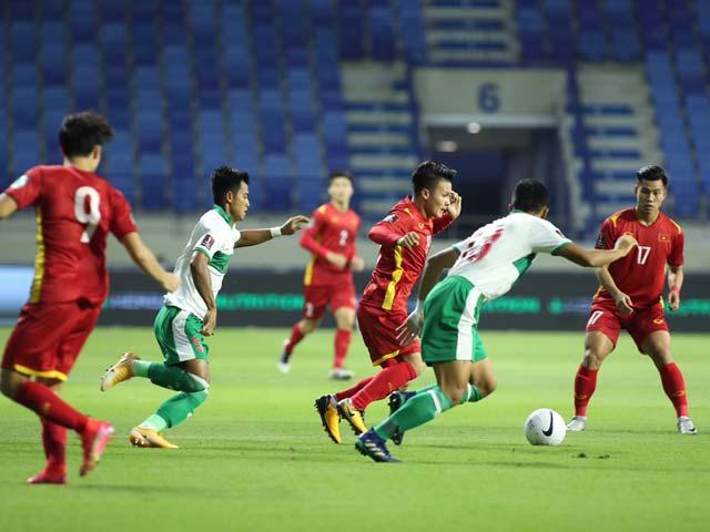 Trực tiếp bóng đá Việt Nam - Indonesia: Liên tiếp hãm thành