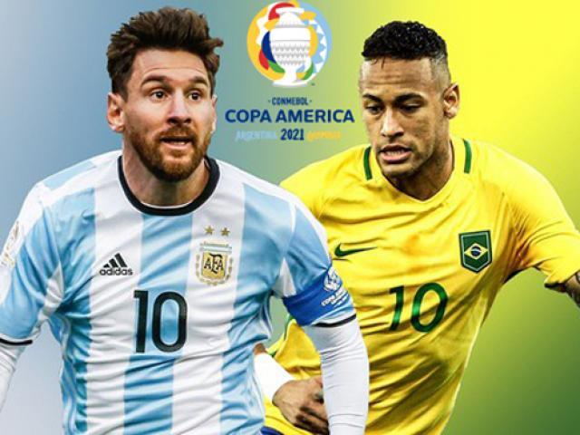 Kết quả thi đấu giải bóng đá vô địch Nam Mỹ - Copa America 2021
