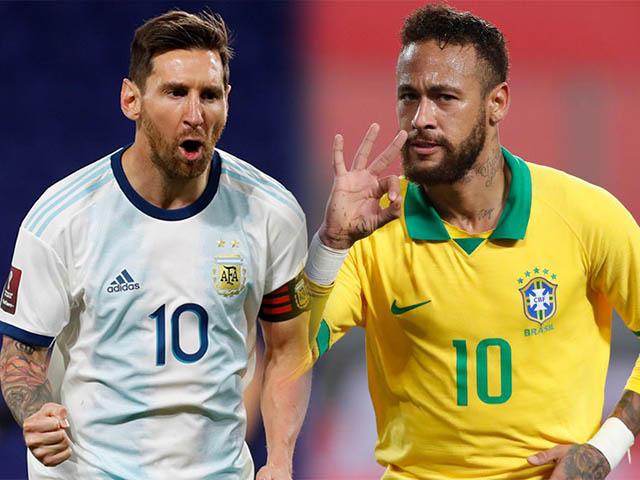 """Đua vô địch Copa America 2021: Messi - Argentina vào bảng """"tử thần"""", quyết lật đổ Brazil"""