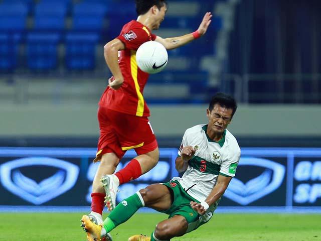 Hậu vệ Indonesia xin lỗi Tuấn Anh và HLV Park Hang Seo vì pha bóng thô bạo