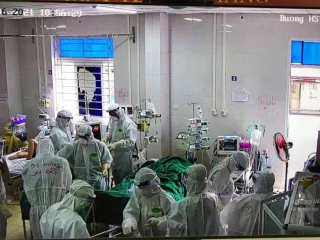 """Về tâm dịch Bắc Giang đấu với """"thần chết"""" cứu bệnh nhân Covid-19"""