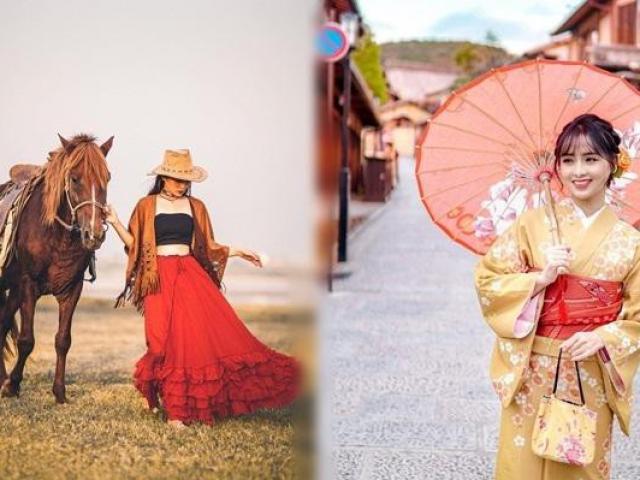 Ảnh du lịch đẹp như tạp chí của nữ sinh trường Y Hà Nội