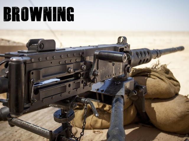 """Sức mạnh kinh hoàng từ khẩu đại liên """"bất tử"""" của quân đội Mỹ"""