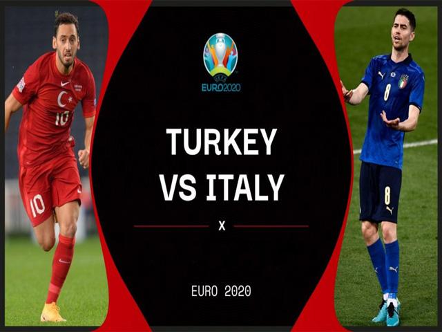 Nhận định bóng đá Thổ Nhĩ Kỳ - Italia: Hồi hộp chờ đại tiệc (Khai mạc EURO 2021)