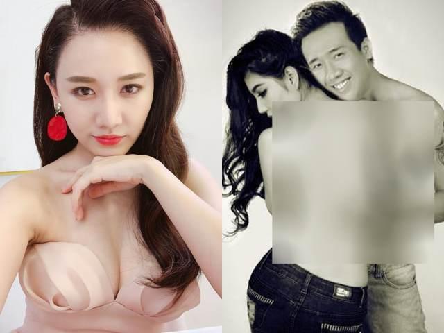 """Lộ ảnh """"Trấn Thành tình tứ bên Diễm My 9x"""", Hari Won phản ứng lạ"""