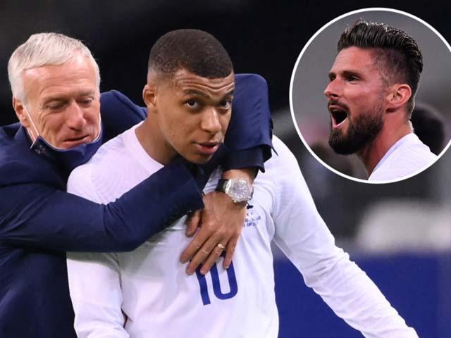 """Mbappe điên máu vì bị Giroud gây hấn, ĐT Pháp nổi """"sóng ngầm"""" trước EURO"""