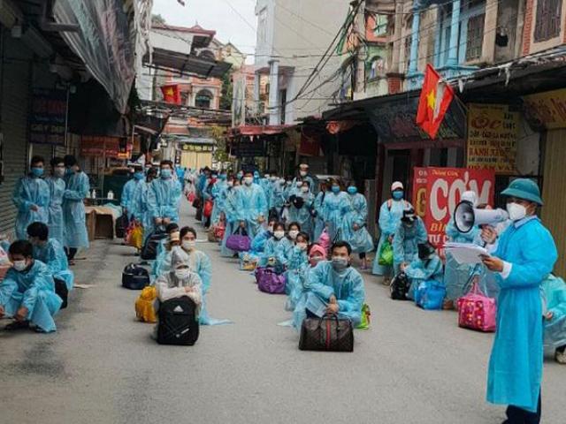 Hàng chục ngàn công nhân ở tâm dịch Bắc Giang sắp về các địa phương