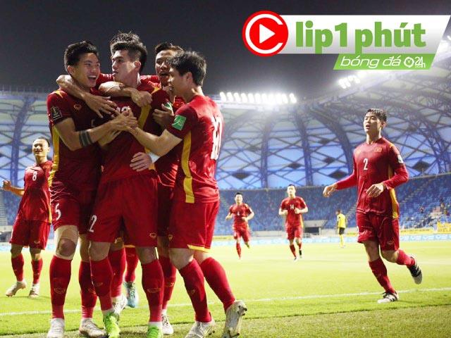 ĐT Việt Nam đấu UAE tranh ngôi đầu, muốn thủ hòa hay quyết thắng? (Clip 1 phút Bóng đá 24H)