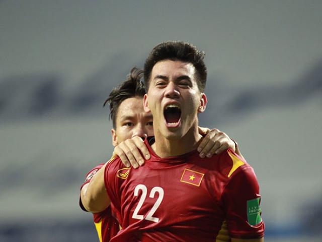 Con trai ghi bàn thắng đầu tiên cho tuyển Việt Nam ở trận gặp Malaysia, bố Tiến Linh nói gì?