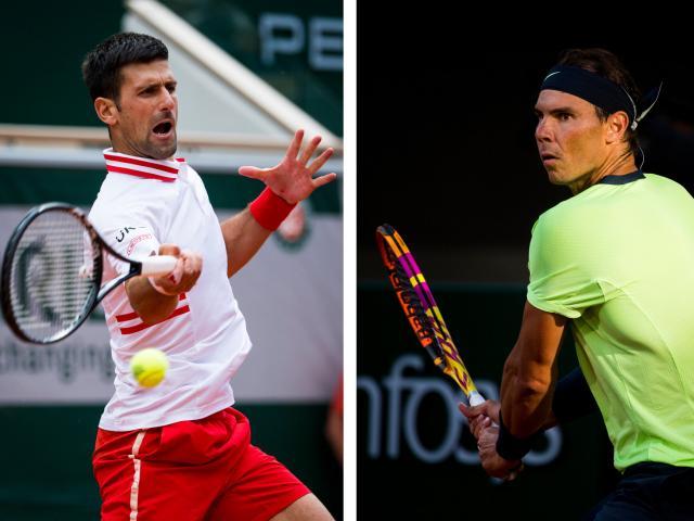 """Djokovic và Nadal """"đấu trí"""" đỉnh cao, so tài trên lưới ở Roland Garros"""