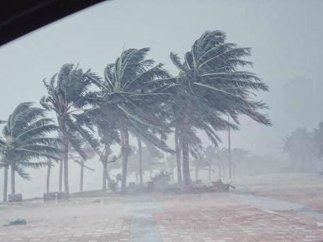 Bão số 2 áp sát đất liền Hải Phòng- Nghệ An, nhiều tỉnh cấm biển