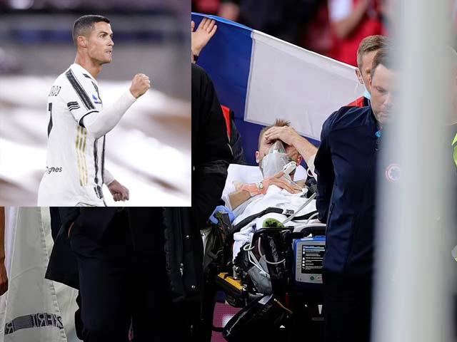 Hay tin Eriksen đột quỵ, Ronaldo lập tức có hành động làm triệu fan cảm phục