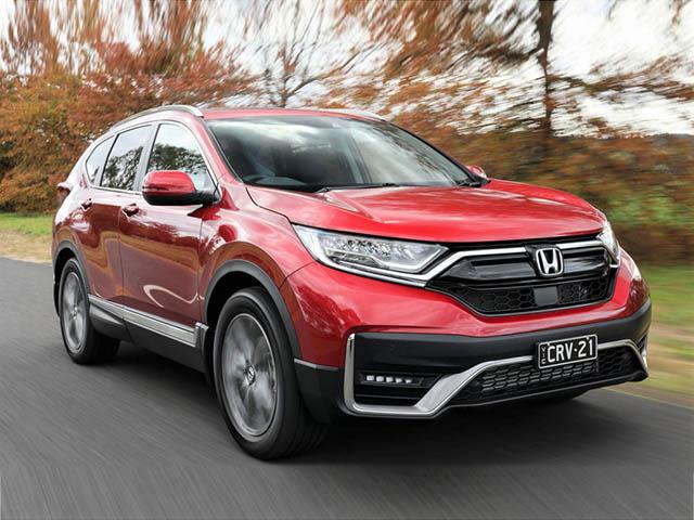 Giá xe Honda CR-V lăn bánh tháng 6/2021