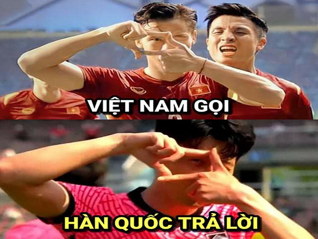 """Ảnh chế: Hàn Quốc """"tặng quà"""" ĐT Việt Nam tại vòng loại World Cup 2022"""