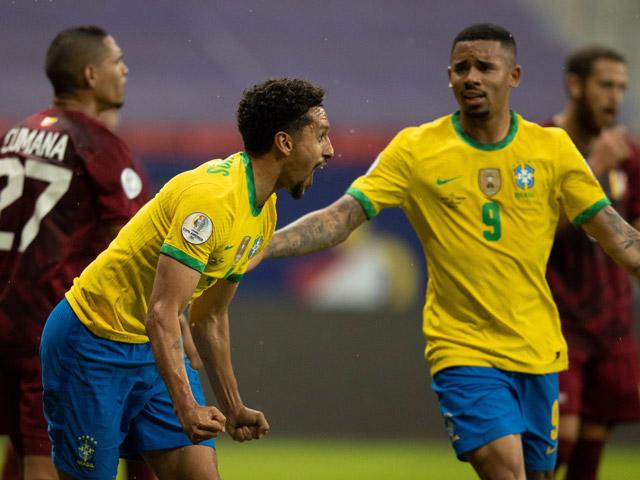 Trực tiếp bóng đá Brazil - Venezuela: Gabigol lập công cuối trận (Hết giờ) (Copa America)