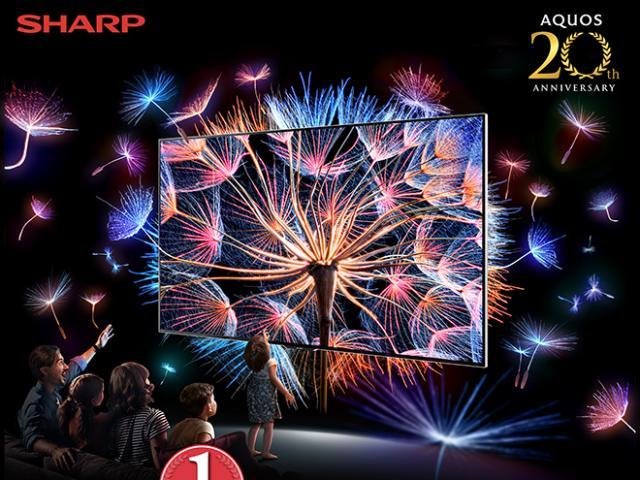 Sharp 20 năm hành trình thương hiệu TV số 1 Nhật Bản