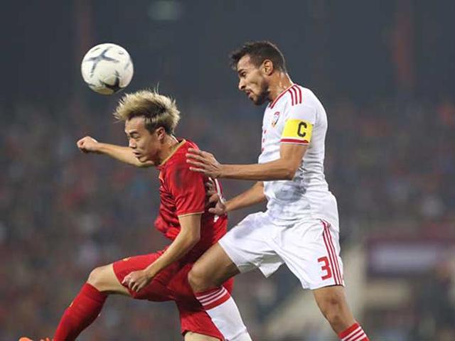 Nhận định bóng đá UAE - Việt Nam: Trận đấu đỉnh cao, phân định ngôi đầu