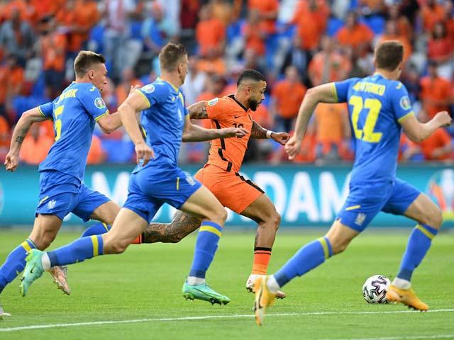 Trực tiếp bóng đá Hà Lan - Ukraine: Vỡ òa bàn thắng thứ 5 (Hết giờ)