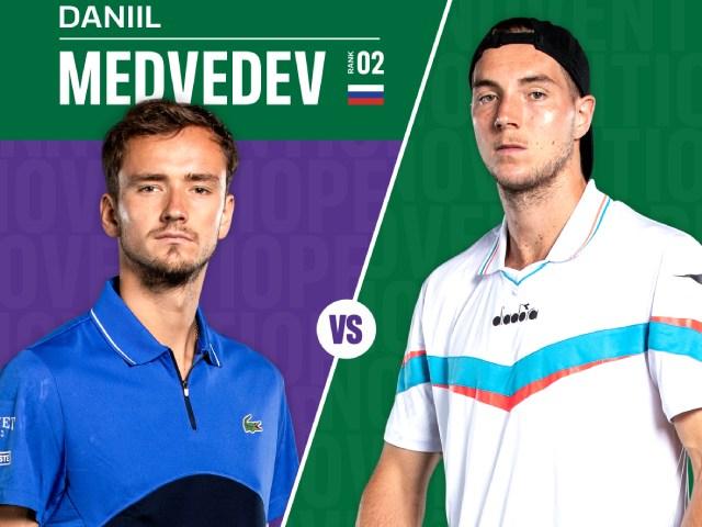 """Địa chấn vòng 1 Halle Open: Medvedev thua """"sấp mặt"""" lão tướng Struff"""