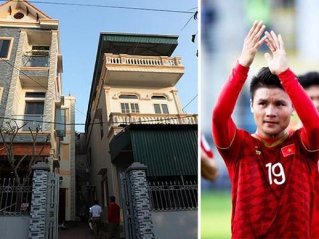 Những căn nhà tiền tỷ Quang Hải và dàn cầu thủ Việt báo hiếu bố mẹ