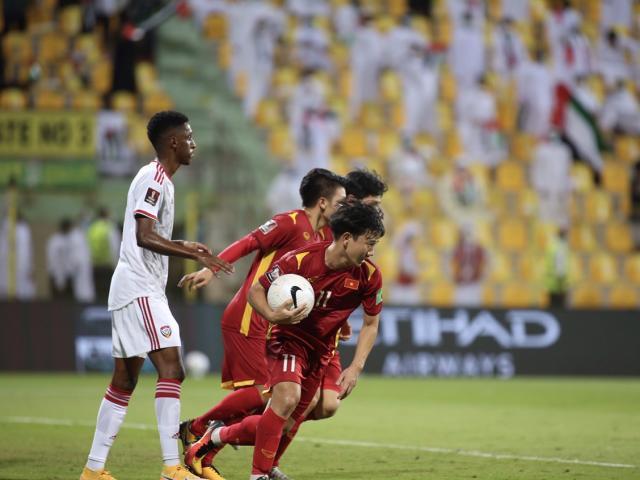 Minh Vương đá hay nhất trận gặp UAE, lại bén duyên đốt lưới ông lớn châu Á