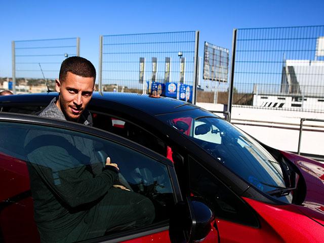 Dàn xế hộp đắt tiền của siêu sao tuyển Bỉ, Eden Hazard