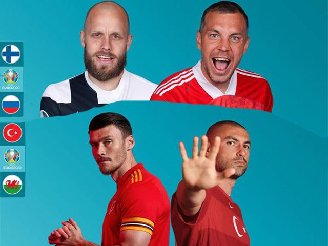 """Soi trận hot EURO 2020: """"Gấu"""" Nga tìm điểm đầu tiên, chờ Bale cứu Xứ Wales"""