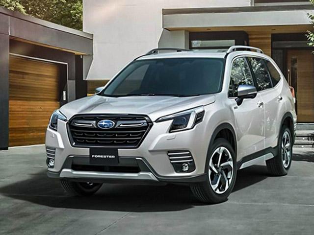 Subaru trình làng bản nâng cấp dòng xe Forester, sớm có mặt tại Việt Nam