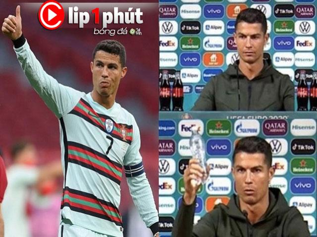 """Ronaldo - Pogba gây tranh cãi vì trào lưu tại EURO, Chelsea """"đại chiến"""" MU vì Ramos (Clip 1 phút Bóng đá 24H)"""