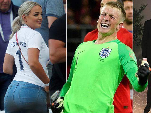 """Nóng cùng mỹ nhân EURO: Vợ đẹp tiếp lửa """"người nhện"""" ĐT Anh giữ sạch lưới"""