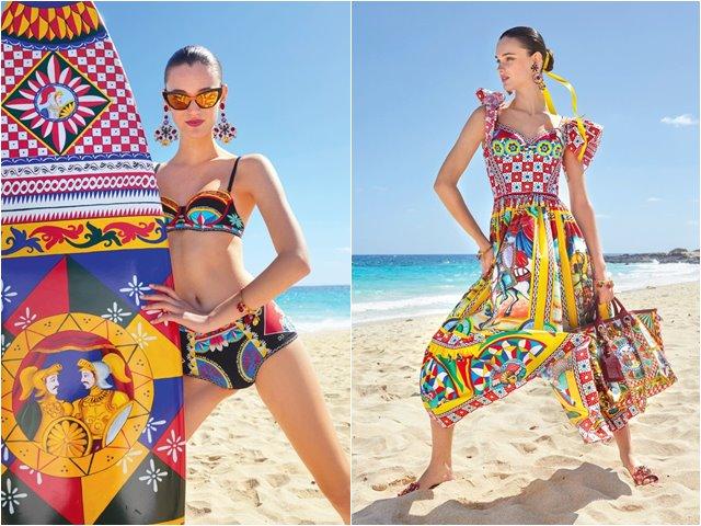 Dolce & Gabbana tung bộ sưu tập Pre-Fall sặc sỡ