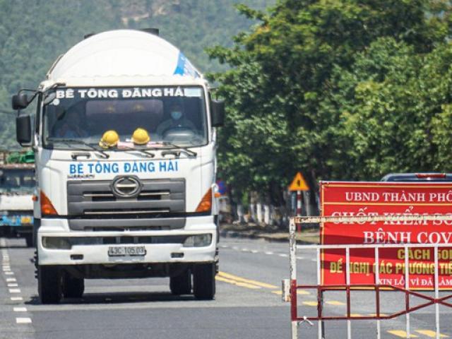 """Xe chở người mắc COVID-19 từ TPHCM """"lọt"""" vào Đà Nẵng vì qua chốt không có ai chặn"""