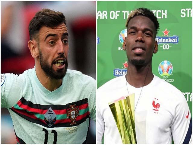 """Dàn sao MU """"tắt điện"""" ở EURO 2020: 9 người mờ nhạt, khác biệt Pogba"""