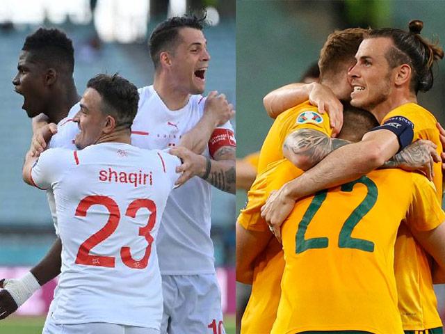 Soi trận hot EURO hôm nay: Thụy Sỹ mơ lách khe cửa hẹp, Xứ Wales dè chừng Italia