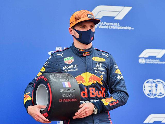 Đua xe F1, Phân hạng French GP: Verstappen đoạt pole, triều đại Red Bull trở lại