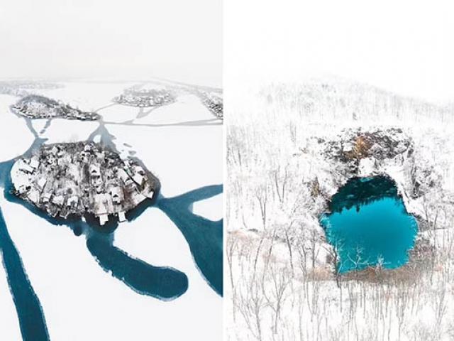 Hình ảnh kinh ngạc ở những nơi ít ai biết tại châu Âu qua ống kính flycam