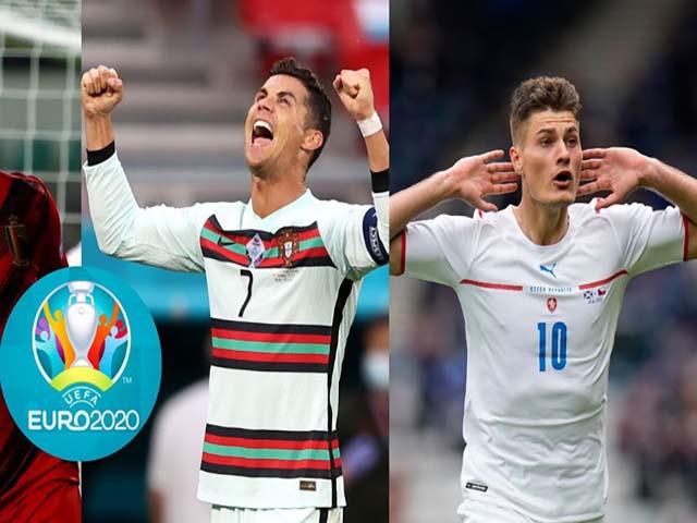 """Đua """"Vua phá lưới"""" EURO 2020: Ronaldo và Patrik Schick so kè, dấu ấn Serie A"""