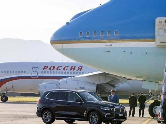 """Báo Đức so sánh """"Điện Kremlin bay"""" và """"Không lực Một"""" của Putin và Biden"""