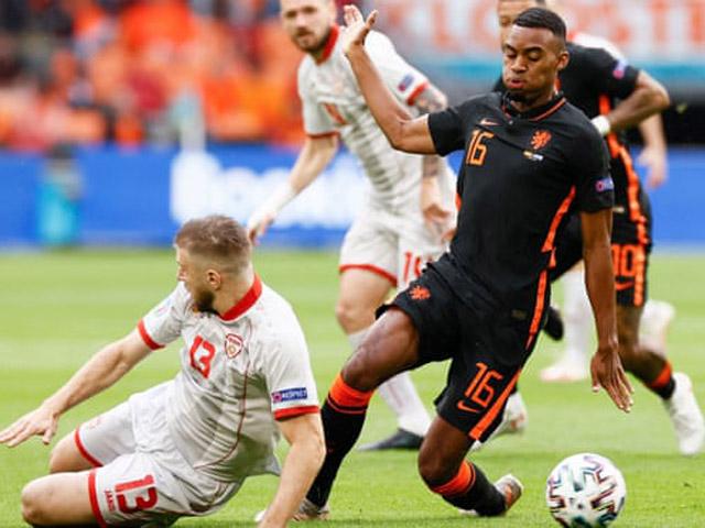 Trực tiếp bóng đá Bắc Macedonia - Hà Lan: Chưa có bàn thắng thứ 2 (EURO)