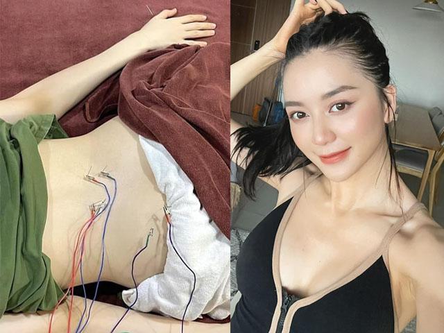 Thiều Bảo Trang hé lộ ảnh trên giường bệnh khiến fan bất ngờ