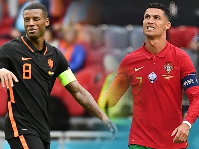 Ngôi sao EURO: Wijnaldum thăng hoa so kè Ronaldo, Hà Lan thắng như chẻ tre