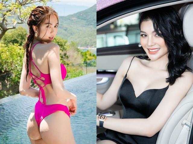 """Chân dài quê Tây Ninh đang vướng thị phi với """"nữ hoàng nội y"""" Ngọc Trinh nói gì?"""