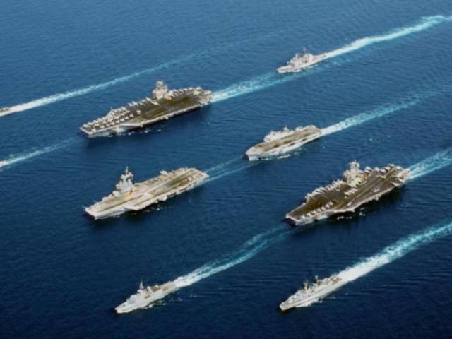 Mỹ rục rịch kế hoạch mới, dành hẳn hạm đội mạnh nhất tập trung Biển Đông
