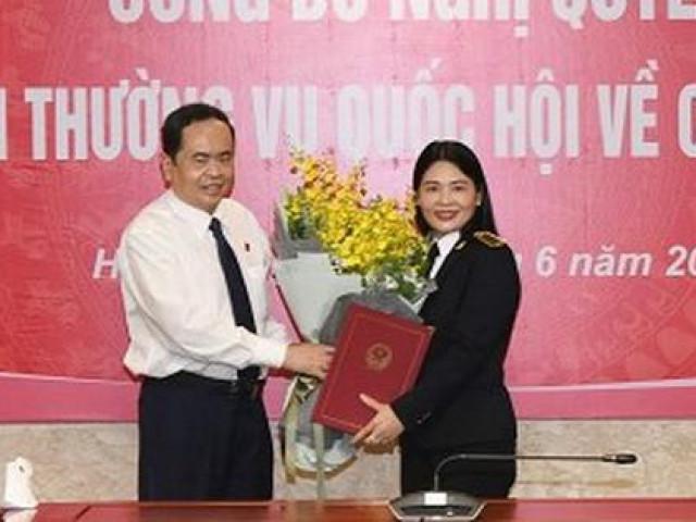 Bổ nhiệm nữ Phó Tổng Kiểm toán Nhà nước đầu tiên