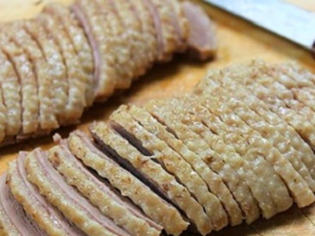 Tuyệt chiêu làm các món thịt luộc thơm, trắng, giòn như ngoài hàng