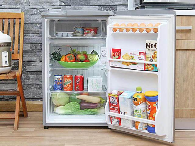 Chọn tủ lạnh mini giá rẻ, chất lượng cho sinh viên, công nhân ở trọ