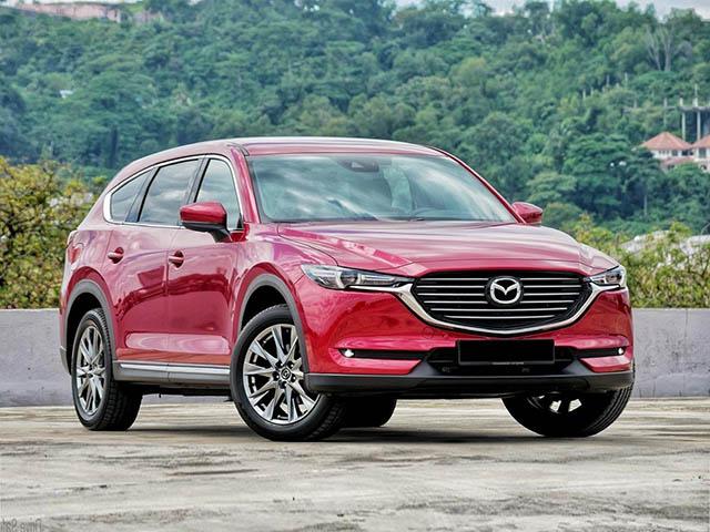 Giá xe Mazda CX-8 lăn bánh tháng 6/2021