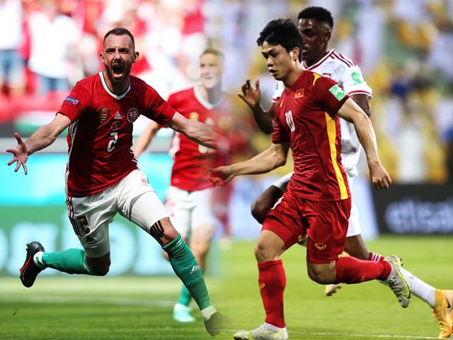 """ĐT Việt Nam dễ vào bảng """"tử thần"""" vòng loại World Cup, niềm cảm hứng từ Hungary"""