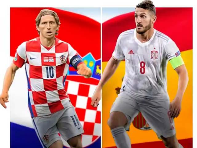 """Nhận định bóng đá Croatia - Tây Ban Nha: Đẳng cấp Modric mơ thuần phục """"Bò tót"""" (EURO)"""